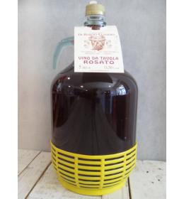 T.Fageto – ROSATO vino da tavola lt. 5